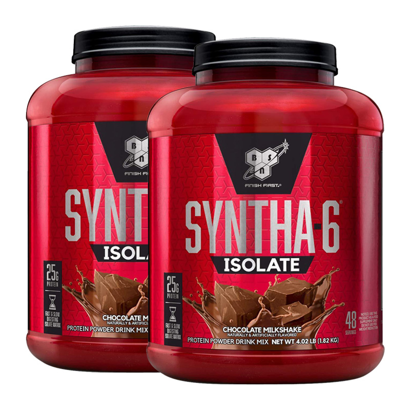 SYNTHA-6 ISOLATE 4 LBS (DOUBLE PACK)