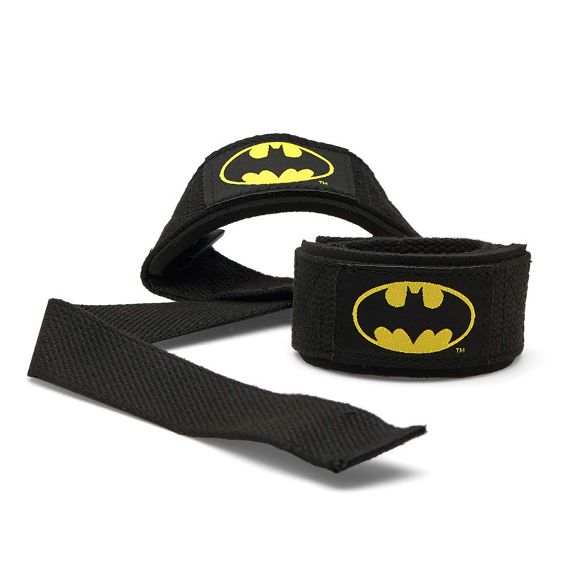 BATMAN WEIGHT LIFTING STRAPS